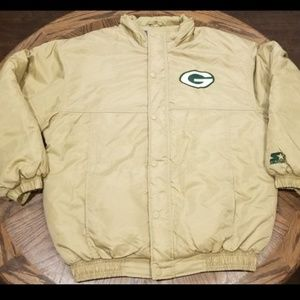 Vintage NFL Football Green Bay Packers Starter Jac